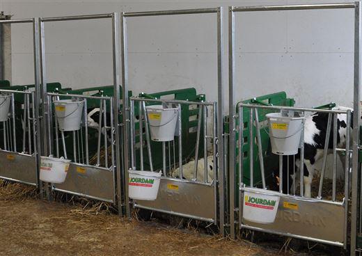 Kalvboxar med tillbehör
